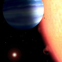 Water Detected in the Atmosphere of a Hot Jupiter Exoplanet!