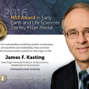 CEHW Professor Kasting receives National Academy of Science Early Earth & Life Sciences Award