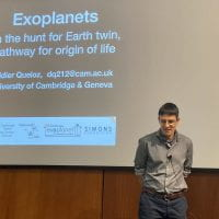 Didier Queloz Talk on the Hunt for an Earth Twin and the Pathway for the Origin of Life